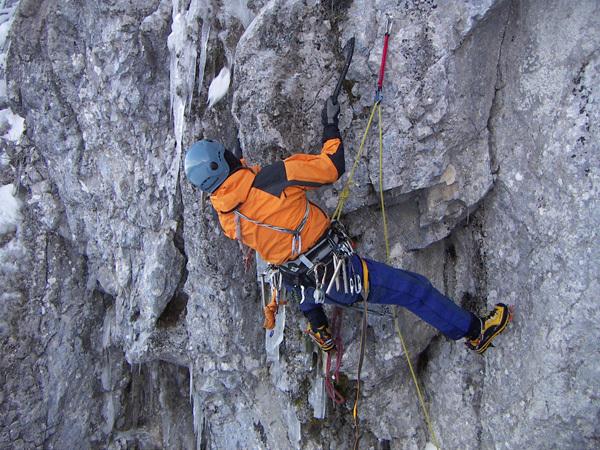 Grotta delle Ciaole, Giorgio Ferretti su Campitello Dry-Ice, Giorgio Ferretti