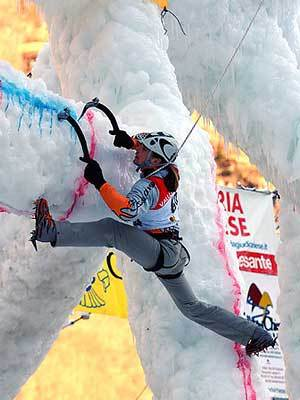 Harry Berger all'Ice Master World Cup Valle di Daone 2006, Giulio Malfer