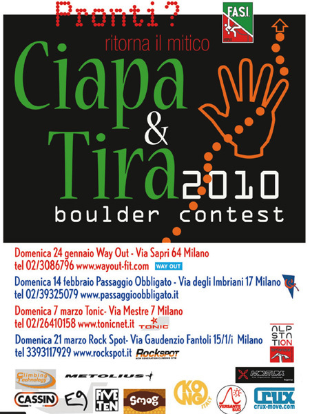 Ciapa & Tira 2010, Ciapa & Tira