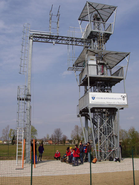 La Torre di Padova della Commissione Centrale Materiali e Tecniche del Cai , CAI Padova