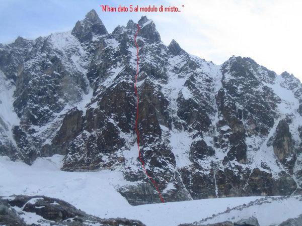 Punta Khanchhya, Dawa Peak - Khumbu, Nepal, arch. E. Bonino