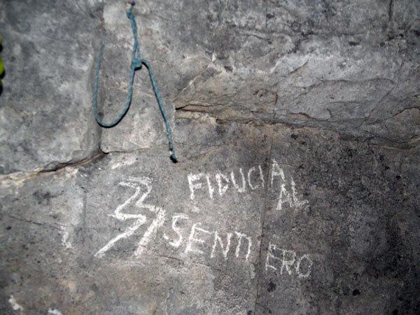 Fiducia al sentiero - Confianza en el Sendero, arch. Baù - Della Bordella