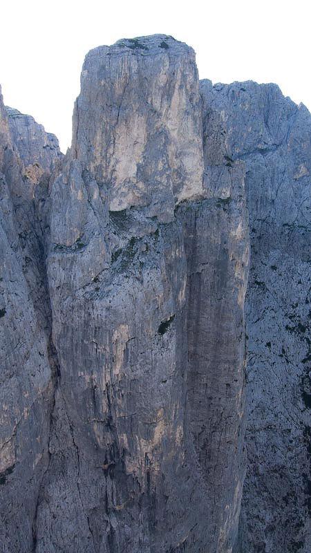 Spiz di Lagunaz, Pilastro Ovest – Pale di San Lucano (Dolomiti), Pietro Dal Prà