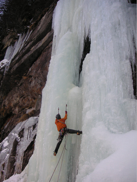 On the final drip of La Piovra, Canton Ticino, Switzerland, arch Uboldi