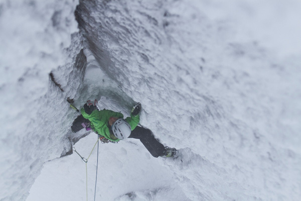 Ines Papert sale Stirling Bridge VI,7 a Aonach Mor, Scozia, Hans Hornberger