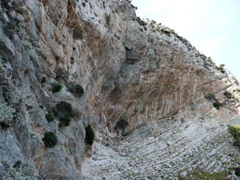 La bella falesia di Glaros, Telendos, Kalymnos, Aris Theodoropoulos