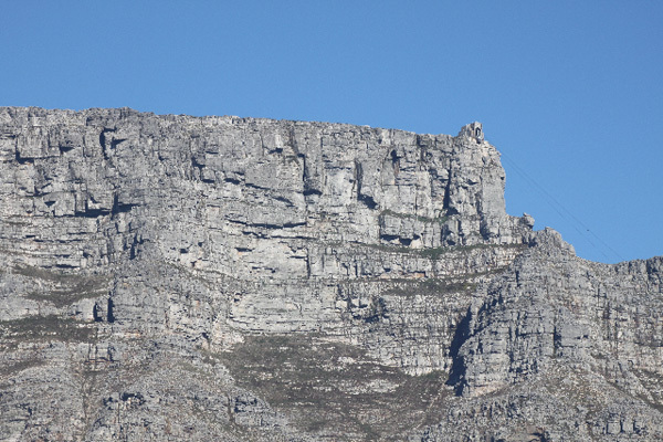 Classic multi pitch crags on the front of Table Mountain, Tony Lourens Collection