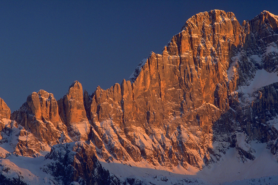 The immaculate NW Face of Civetta, Dolomites, Planetmountain.com