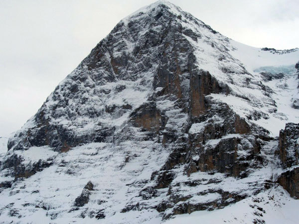 The North Face of the Eiger, arch. C. Profit