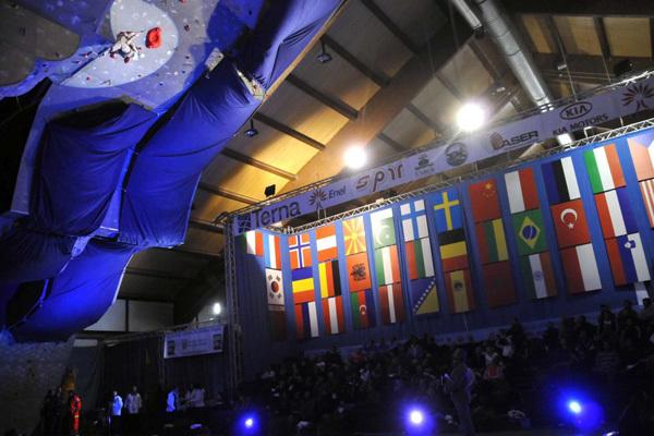 Una fase della gara dei Giochi Mondiali Militari Invernali ad Aosta., Cism