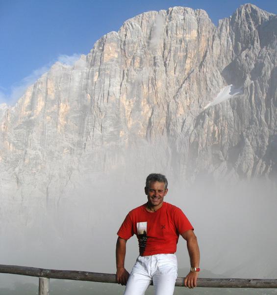 Renzo Zambaldi in Civetta, arch Furlani