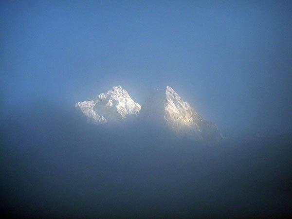 Tsuro Ri - Ama Dablam (valle del Khumbu, Nepal), arch. A. Di Donato - D. Nardi