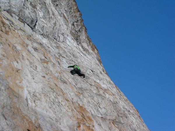 Phantom der Zinne, Cima Grande, Tre Cime di Lavaredo, Dolomites, arch Gietl