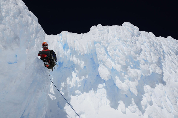 Monte Sarmiento, Patagonia, North Face first ascent, Ralf Gantzhorn