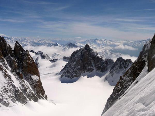 Voie Anderson, Mont Maudit, Monte Bianc, archivio Davide Capozzi