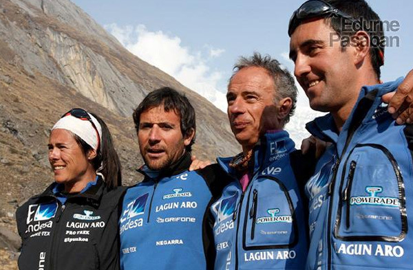 Edurne Pasaban, Alex Chicón, Nacho Orviz, Asier Izaguirre, www.edurnepasaban.com