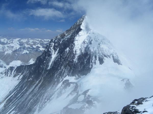 Everest dalla cima del Lhotse, arch Denis Urubko