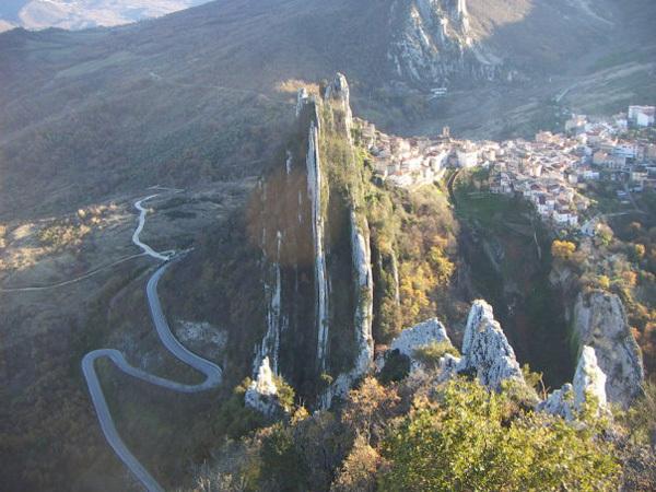 Arrampicare a Pennadomo, Abruzzo, Giorgio Ferretti