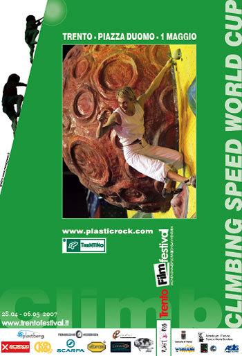 Il 1° maggio a Trento si disputerà la seconda prova della Coppa del Mondo di arrampicata di velocità., Planetmountain.com