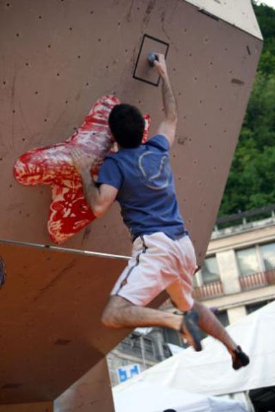 Enrico Polo, vincitore a Tolmezzo, Massimo Candolini
