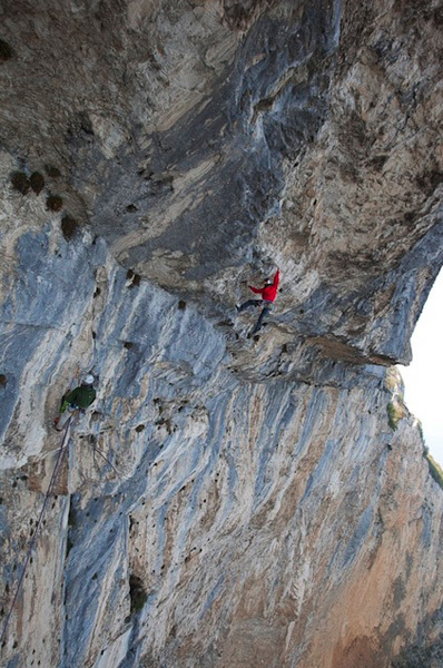 David Lama & Jorg Verhoeven during the first ascent of their