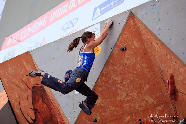 Anna Stöhr competing at Moscow, Anna Piunova