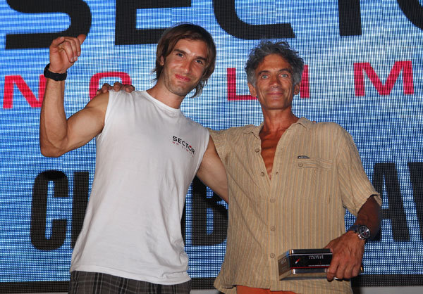 Chris Sharma and Maurizio 'Manolo' Zanolla, Newspower