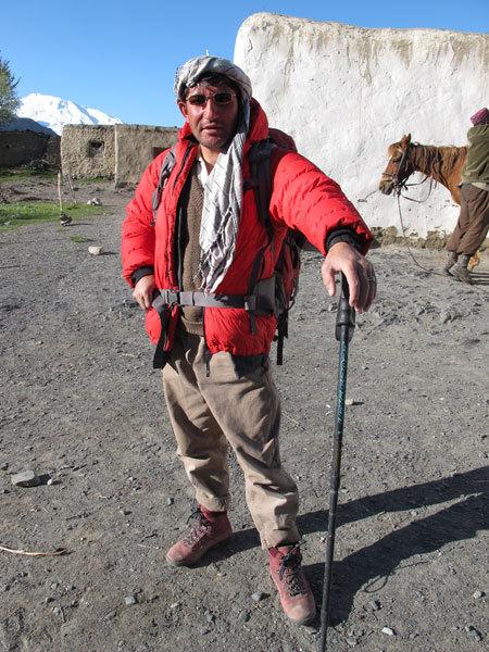 Afyat Khan. Ex mujaheddin, una delle nostre 2 guide, arch. A. Torretta