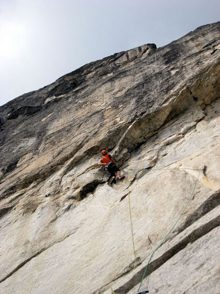 Pitch 2, 7b+, Mares, Marco Farina