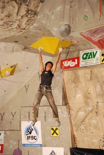 David Lama, IFSC - International Federation of Sport Climbing