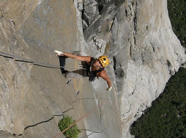 Chloé Graftiaux - Freerider, Yosemite, USA, arch Graftiaux