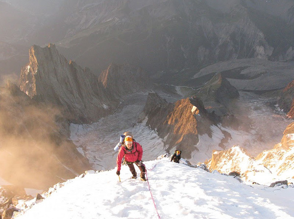 Chloé Graftiaux - Freney, Monte Bianco, arch Graftiaux