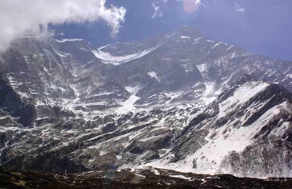 Dhaulagiri West Face, arch. Meroi - Benet