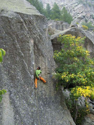 Arrampicata Trad in Valle dell'Orco, Planetmountain.com