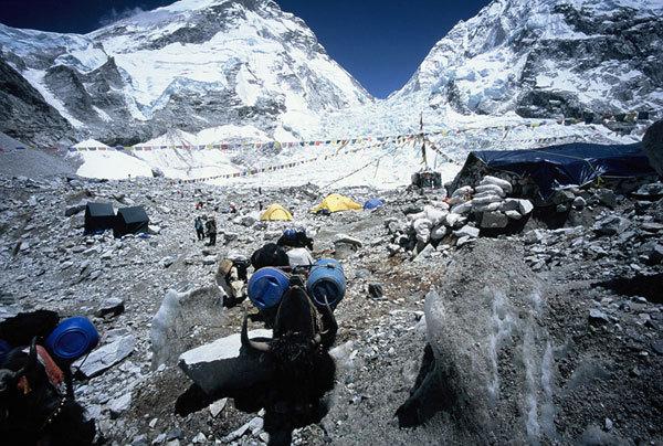 Campo Base Everest versante Sud, M. Lugli