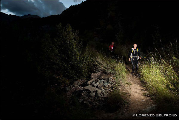 Night and day, the endless Tor des Geants 2010, Lorenzo Belfrond
