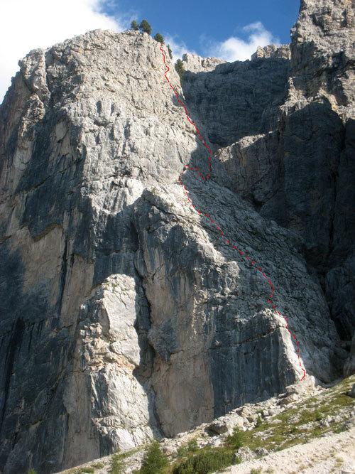 Via Giulia - Torre Orientale Meisules dala Biesces, R. De Stefanis