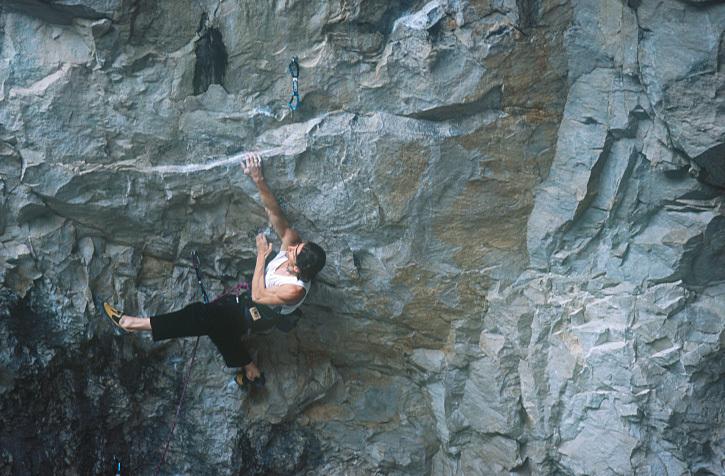 Alberto Gnerro in azione su Reinis Vibes