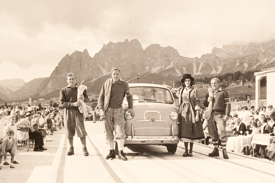 Rosso 70 - Storie e memorie di 70 anni di alpinismo degli Scoiattoli di Cortina, arch. Beniamino Franceschi
