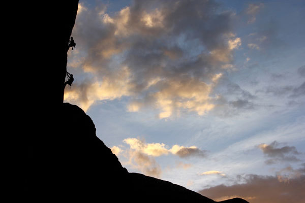 Magical climbing in Taghia, G.Ongaro - arch. Altroverso
