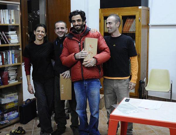 Matteo Calledda e Michele Onida vincitori del mini-endurance del meeting Roccadoria 2010, Maurizio Oviglia