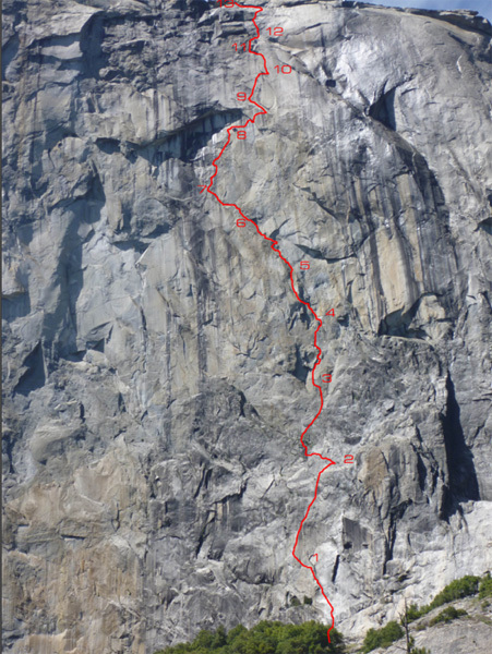 Leo Houlding on The Prophet, El Capitan, Yosemite, USA, Alastair Lee