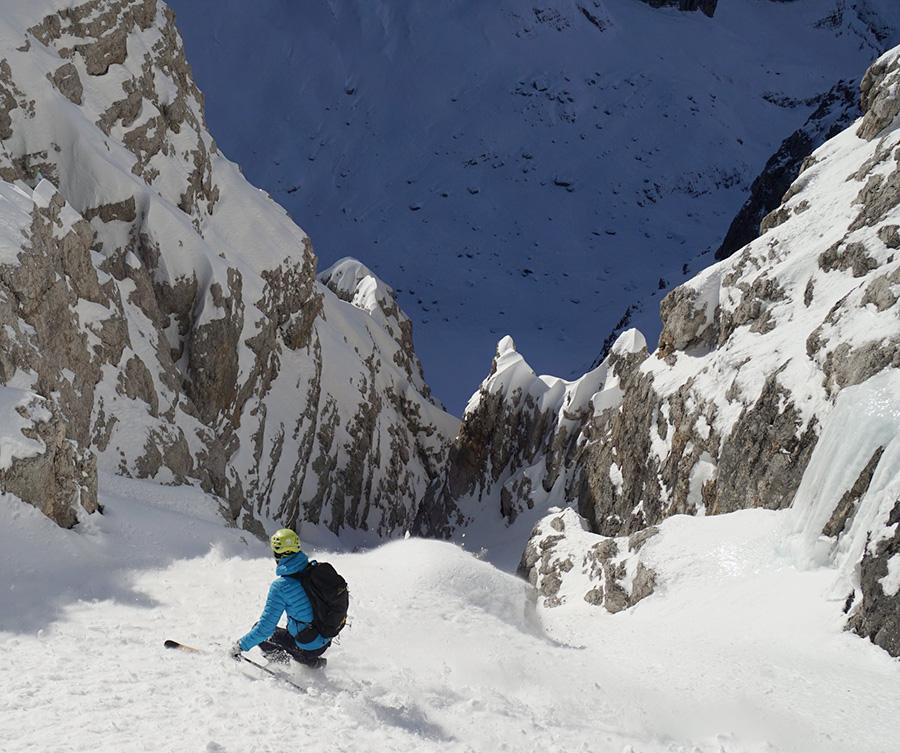 Brenta Dolomites, Sfulmini Ski by Roberto and Luca Dallavalle