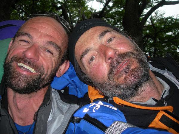 da sinistra: Fabio Giacomelli ed Elio Orlandi, Planetmountain.com