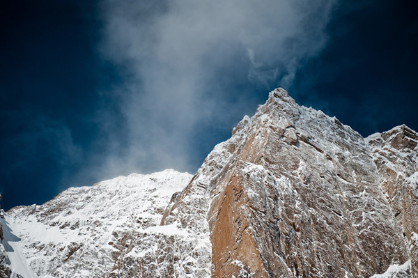 Mount Kyzyl Asker, Kyrgyzstan., visualimpact.ch Thomas Senf