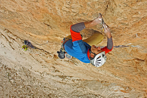 Rolando Larcher on the third pitch of Red, Moon and Star, Ince Recep