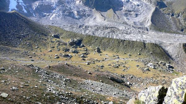 La zona boulder Macugnaga - Zamboni in Piemonte, ZamBlocco