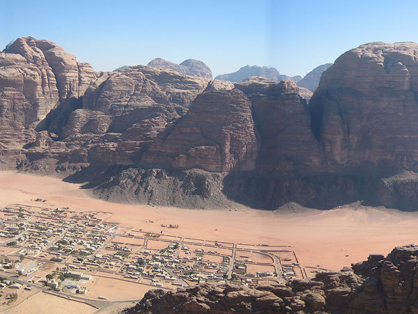 Wadi Rum main view, Bellin & Cozzini collection