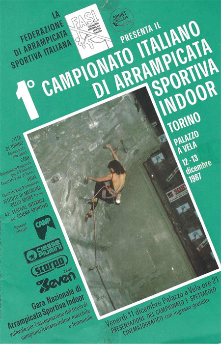1987 nel mitico Palavela di Torino il titolo italiano fu vinto da Luisa Iovane e da Marzio Nardi, Planetmountain.com