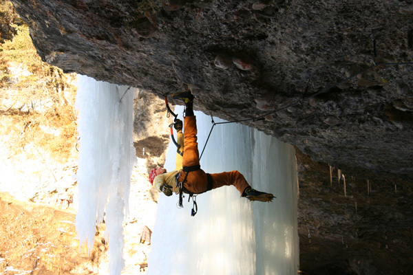 Speranze di Ghiaccio M10+, Grotta del Lupo, Gianmario Meneghin